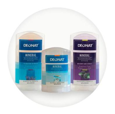 Минеральный дезодорант на основе натуральных калиевых квасцов